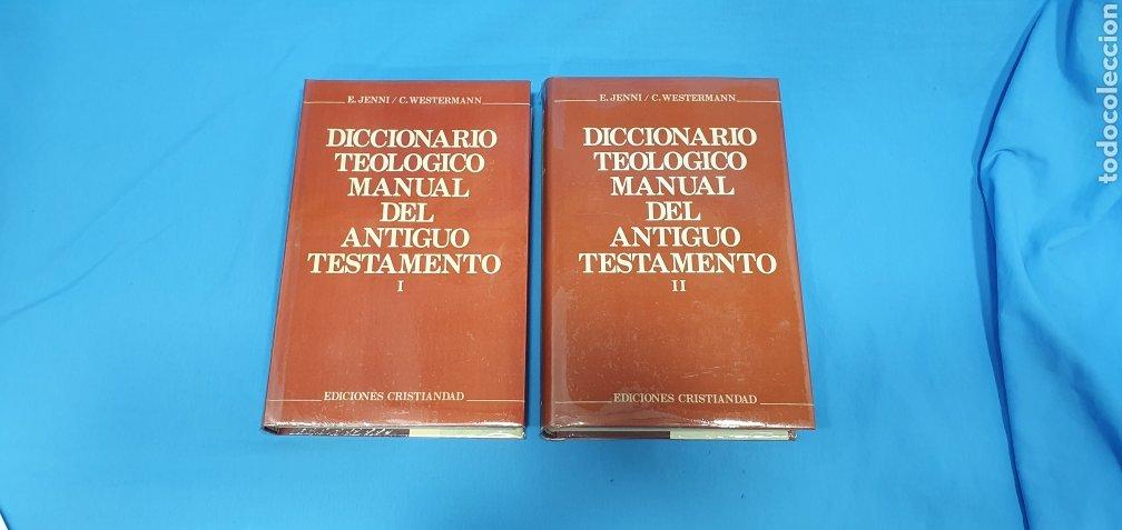 DICCIONARIO TEOLÓGICO MANUAL DEL ANTIGUO TESTAMENTO I Y II - EDICIONES CRISTIANDAD (Libros de Segunda Mano - Religión)