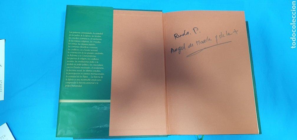 Libros de segunda mano: HISTORIA DE LA IGLESIA - EDAD ANTIGUA, MEDIA, MODERNA Y CONTEMPORÁNEA - EDICIONES SAN PABLO - Foto 2 - 227816800