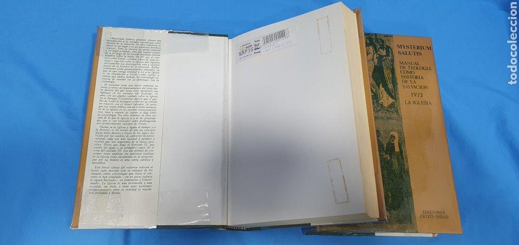 Libros de segunda mano: MUSTERIUM SALUTIS - TOMOS IV - I y II - EDICIONES CRISTIANDAD - Foto 2 - 227822985
