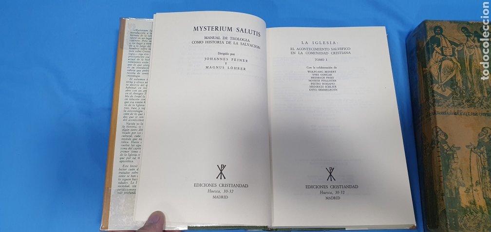Libros de segunda mano: MUSTERIUM SALUTIS - TOMOS IV - I y II - EDICIONES CRISTIANDAD - Foto 3 - 227822985