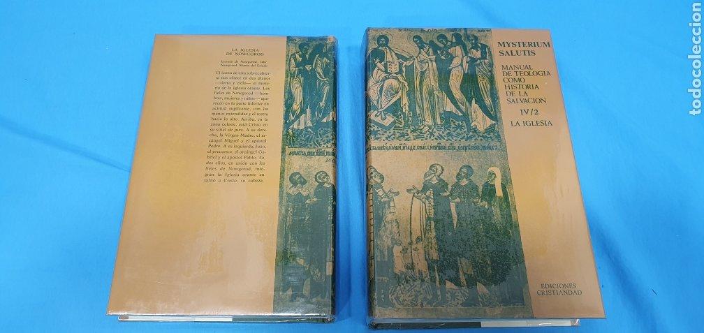 Libros de segunda mano: MUSTERIUM SALUTIS - TOMOS IV - I y II - EDICIONES CRISTIANDAD - Foto 5 - 227822985