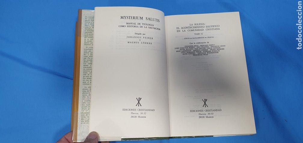 Libros de segunda mano: MUSTERIUM SALUTIS - TOMOS IV - I y II - EDICIONES CRISTIANDAD - Foto 7 - 227822985