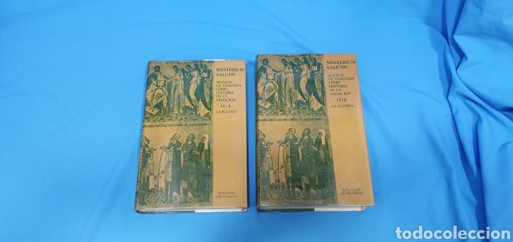 MUSTERIUM SALUTIS - TOMOS IV - I Y II - EDICIONES CRISTIANDAD (Libros de Segunda Mano - Religión)