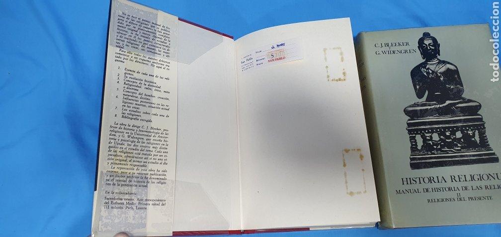 Libros de segunda mano: HISTORIA RELIGIONUM - RELIGIONES DEL PASADO I y II - EDICIONES CRISTIANDAD - Foto 2 - 227826780
