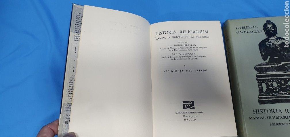 Libros de segunda mano: HISTORIA RELIGIONUM - RELIGIONES DEL PASADO I y II - EDICIONES CRISTIANDAD - Foto 3 - 227826780