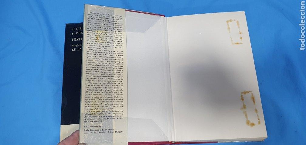 Libros de segunda mano: HISTORIA RELIGIONUM - RELIGIONES DEL PASADO I y II - EDICIONES CRISTIANDAD - Foto 4 - 227826780