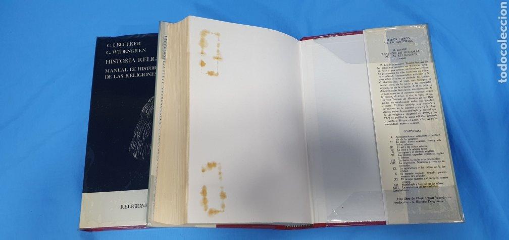 Libros de segunda mano: HISTORIA RELIGIONUM - RELIGIONES DEL PASADO I y II - EDICIONES CRISTIANDAD - Foto 6 - 227826780