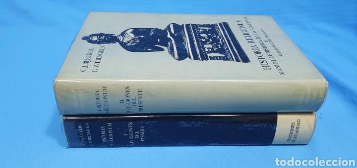Libros de segunda mano: HISTORIA RELIGIONUM - RELIGIONES DEL PASADO I y II - EDICIONES CRISTIANDAD - Foto 7 - 227826780