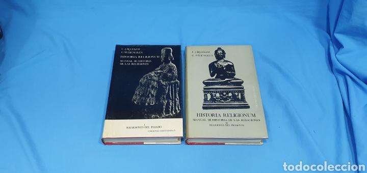 HISTORIA RELIGIONUM - RELIGIONES DEL PASADO I Y II - EDICIONES CRISTIANDAD (Libros de Segunda Mano - Religión)