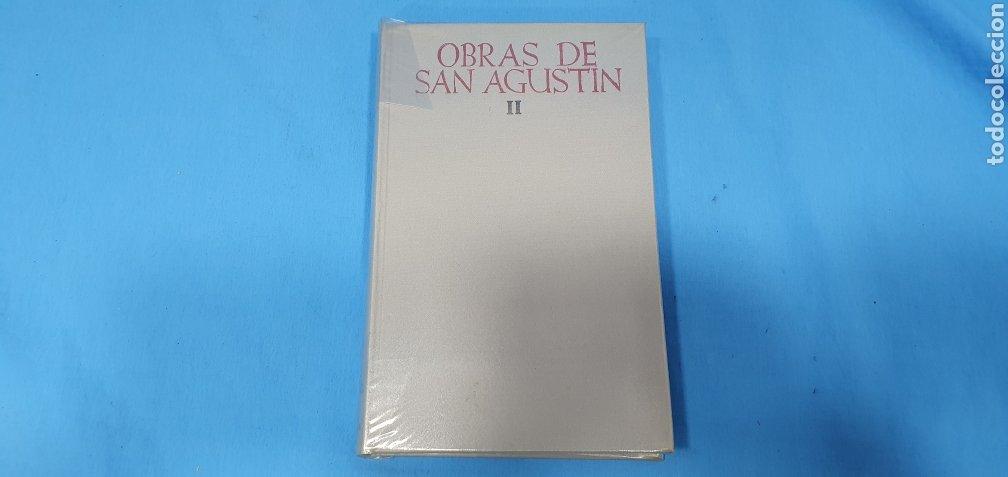 OBRAS DE SAN AGUSTÍN - II LAS CONFESIONES - BIBLIOTECA DE AUTORES CRISTIANOS - MADRID - MCMLXVIII (Libros de Segunda Mano - Religión)