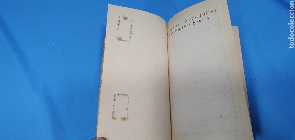 Libros de segunda mano: SAN VICENTE FERRER - BIOGRAFÍA Y ESCRITOS - B. A. C. 153 SECCIÓN V - HISTORIA Y HAGIOGRAFÍA - Foto 4 - 227978240