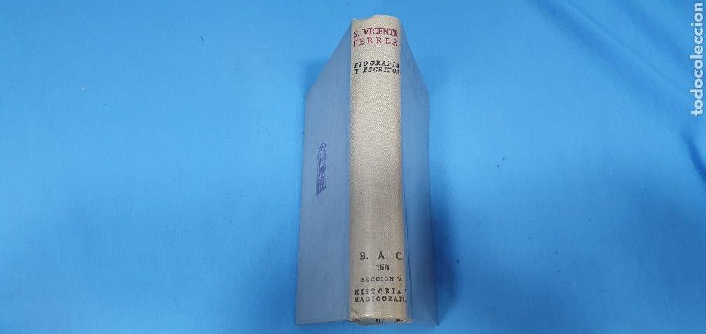 Libros de segunda mano: SAN VICENTE FERRER - BIOGRAFÍA Y ESCRITOS - B. A. C. 153 SECCIÓN V - HISTORIA Y HAGIOGRAFÍA - Foto 9 - 227978240