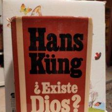 Libros de segunda mano: EXISTE DIOS? - HANS KÜNG. Lote 228219640