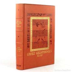 Libros de segunda mano: COMENTARIO AL APOCALIPSIS, CÓDICE DE GERONA, BEATO DE LIÉBANA, 1975, EDICIÓN FACSÍMIL, MADRID.. Lote 228438085
