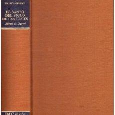 Livres d'occasion: EL SANTO DEL SIGLO DE LAS LUCES. Lote 193458582