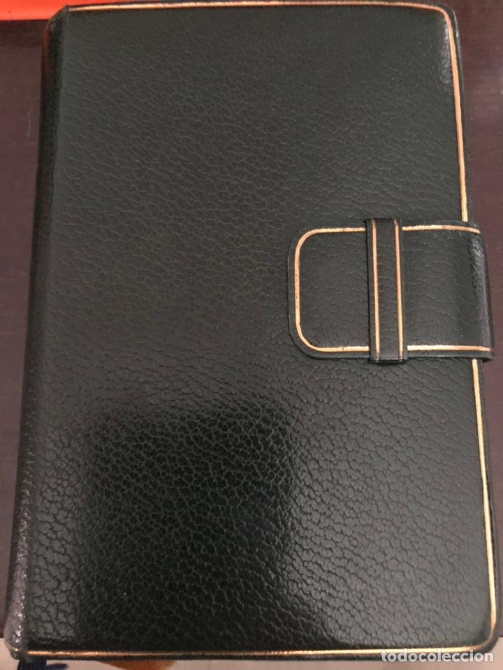 Libros de segunda mano: Misal diario latino-español devocionario en piel 1961 - Foto 2 - 230827645