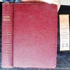 Libros de segunda mano: LA SANTA BIBLIA, ANTIGUO Y NUEVO TESTAMENTO. ANTIGUA VERSIÓN DE CASIODORO DE REINA (1569). Lote 231071455