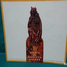 Libros de segunda mano: LIBRO MARIA ES NUESTRA MADRE - CARTA PASTORAL - ELÍAS YANES ÁLVAREZ - AÑO 2004. Lote 231230860