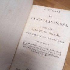 Libros de segunda mano: ANTIGUO LIBRODO 1817 LA NUEVA ANTÍFONA REYNA MARÍA ISABEL DE BRAGANZA MADRID BURGOS. Lote 231391665