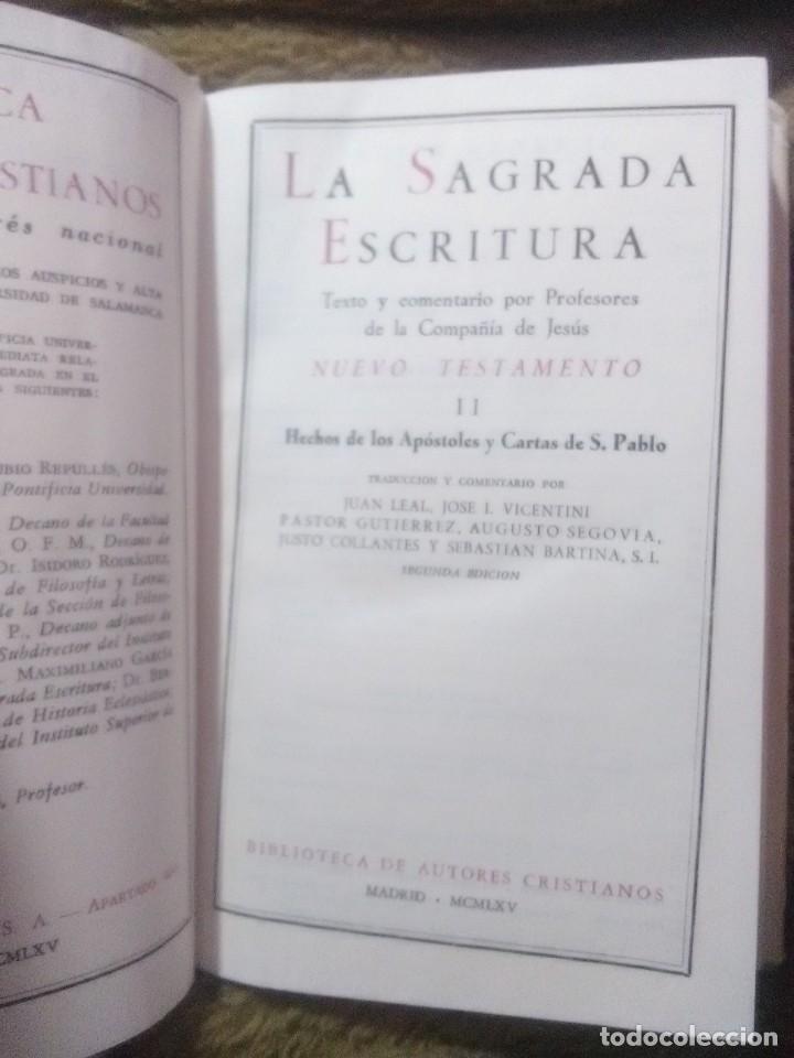Libros de segunda mano: La Sagrada Escritura, texto y comentario. N.T. II. J. Leal y otros. BAC, nº 211. 1965. 2 Ed. - Foto 2 - 231605125