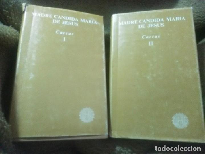 MADRE CÁNDIDA MARÍA DE JESÚS. CARTAS. (2 VOL.) BAC (FUERA DE COLECCIÓN). 1983. (Libros de Segunda Mano - Religión)