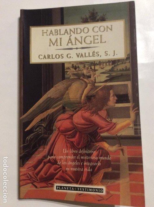 HABLANDO CON MI ÁNGEL CARLOS G. VALLES S.J. (Libros de Segunda Mano - Religión)