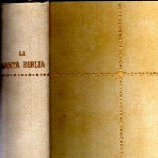 Libros de segunda mano: SANTA BIBLIA CANTERA URBINA (PLANETA, 1980) EDICIÓN DE LUJO. Lote 232671575