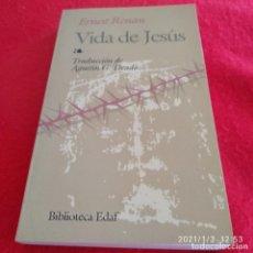 Libros de segunda mano: VIDA DE JESÚS, DE ERNEST TENGAN, EDIC EDAF 2003, 347 PÁGINAS, EN RÚSTICA, BUEN EJEMPLAR.. Lote 232945475