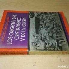 Libros de segunda mano: LOS ORIGENES DEL CRISTIANISMO Y LA IGLESIA / ANTONIO RAMOS OLIVERA / OASIS MEXICO / AE405. Lote 233678535