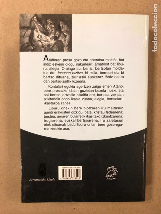 """Libros de segunda mano: JESUSEN BIZITZA. SALBADOR ZAPIRAIN """"ATAÑO"""". AUSPOA LIBURUTEGIA SENDOA ARGITALDARIA 2001. - Foto 8 - 234750530"""