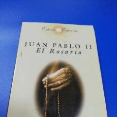 Libros de segunda mano: JUAN PABLO II. EL ROSARIO. ESPASA ESPIRITU. 1997.. Lote 235072690