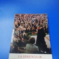 Libros de segunda mano: LA HERENCIA DE MONS ESCRIVA DE BALAGUER. LUIS IGNACIO SECO. 1986.. Lote 235073395
