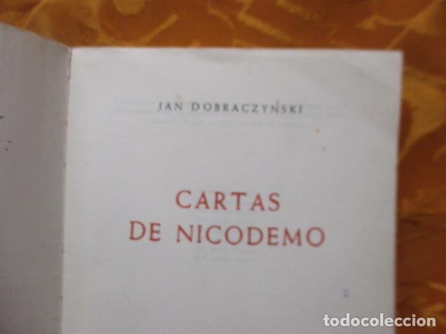 Libros de segunda mano: CARTAS DE DICODEMO - JAN DOBRACZYNSKI - HERDER - Foto 9 - 235216000