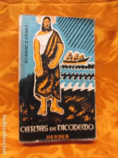 CARTAS DE DICODEMO - JAN DOBRACZYNSKI - HERDER (Libros de Segunda Mano - Religión)