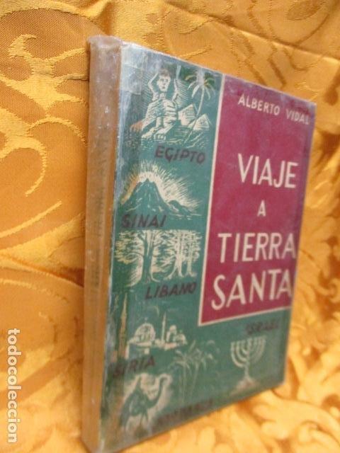 Libros de segunda mano: VIAJE A TIERRA SANTA - ALBERTO VIDAL - Foto 2 - 235217220