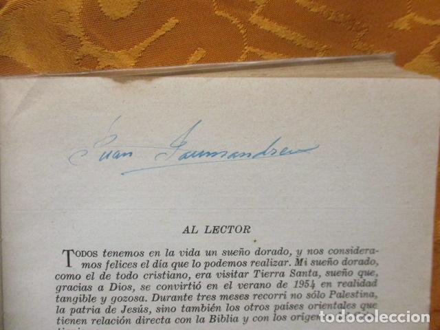 Libros de segunda mano: VIAJE A TIERRA SANTA - ALBERTO VIDAL - Foto 10 - 235217220