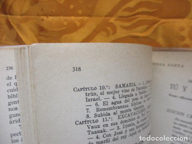 Libros de segunda mano: VIAJE A TIERRA SANTA - ALBERTO VIDAL - Foto 14 - 235217220