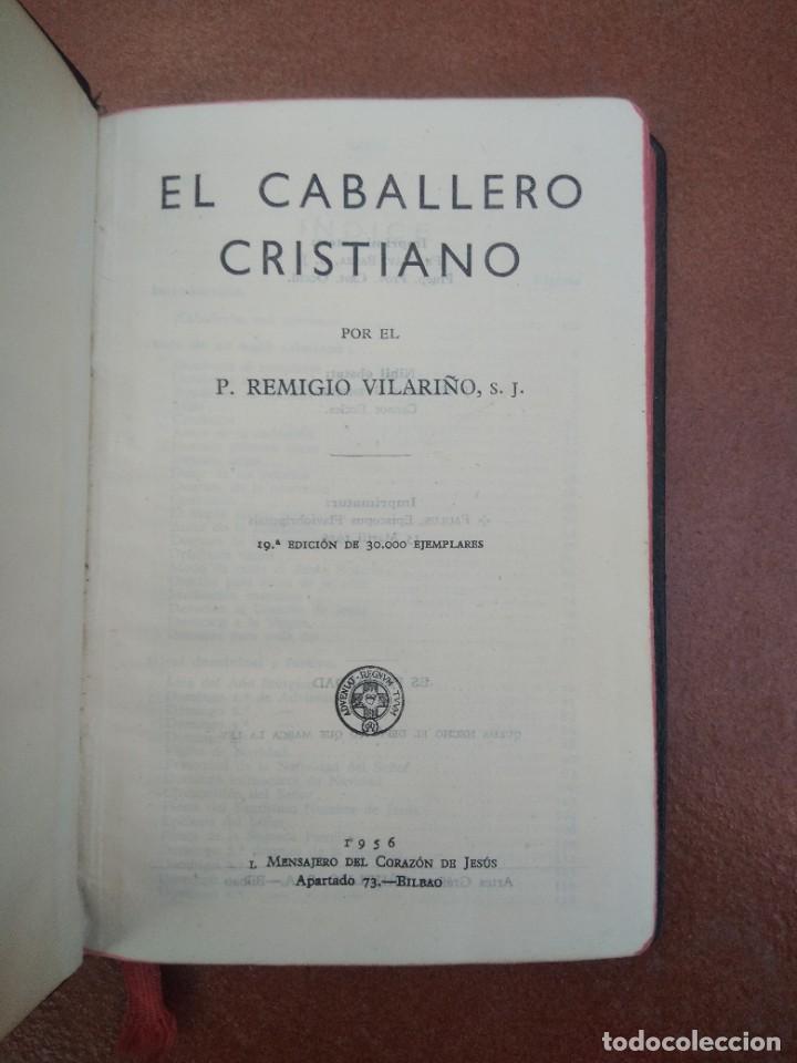 ANTIGUO LIBRO EL CABALLERO CRISTIANO, 1956 (Libros de Segunda Mano - Religión)