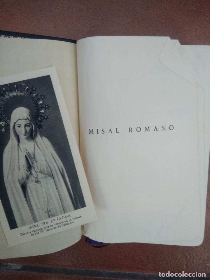 Libros de segunda mano: Antiguo misal p. antoñana misal romano diario - Foto 2 - 235284275