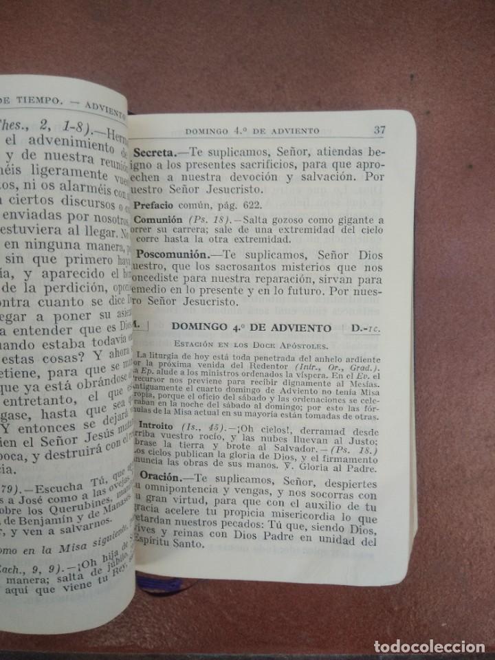 Libros de segunda mano: Antiguo misal p. antoñana misal romano diario - Foto 4 - 235284275
