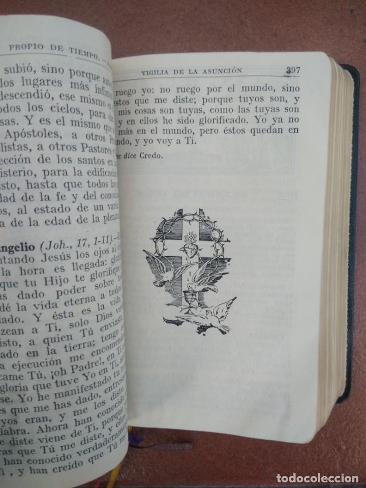Libros de segunda mano: Antiguo misal p. antoñana misal romano diario - Foto 5 - 235284275