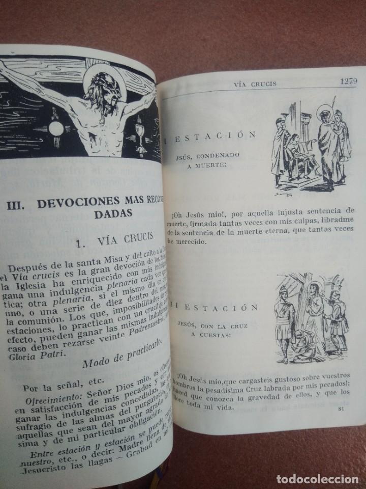 Libros de segunda mano: Antiguo misal p. antoñana misal romano diario - Foto 6 - 235284275