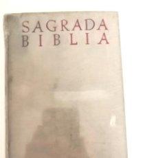Libros de segunda mano: SAGRADA BIBLIA. NACAR Y COLUNGA. 8ª EDICIÓN 1958. Lote 235431960