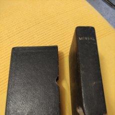 Libros de segunda mano: MISAL 1964 , CATALA-LLATI, VERSIÓN PELS MONJOS DE MONTSERRAT.. Lote 235503110