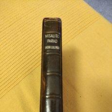 Libros de segunda mano: MISALITO PARVO, 1966. Lote 235503745