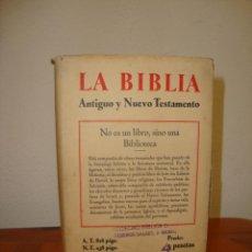 Libros de segunda mano: LA SANTA BIBLIA - VERSIÓN DE CIPRIANO DE VALERA, 1936, MUY BUEN ESTADO. Lote 235518570