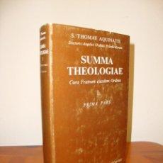 Libros de segunda mano: SUMMA THEOLOGIAE, I. PRIMA PARS - S. THOMAE AQUINATIS - BIBLIOTECA DE AUTORES CRISTIANOS. Lote 235571355