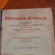 Libros de segunda mano: BREVIARIUM ROMANUN PARS VERNA RELIGIOSO FILATELIA COLISEVM LIBRERIA ANTIGÜEDADES. Lote 235727205