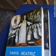 Libri di seconda mano: SANTA BEATRIZ DE SILVA ENRIQUE GUTIERREZ 1988 ILUSTRADO. Lote 235967920