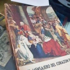 Libros de segunda mano: LOTE REVISTAS RELIGIOSAS EL MENSAJERO DEL CORAZON DE JESUS AÑOS 50 - 60 BILBAO. Lote 236304175